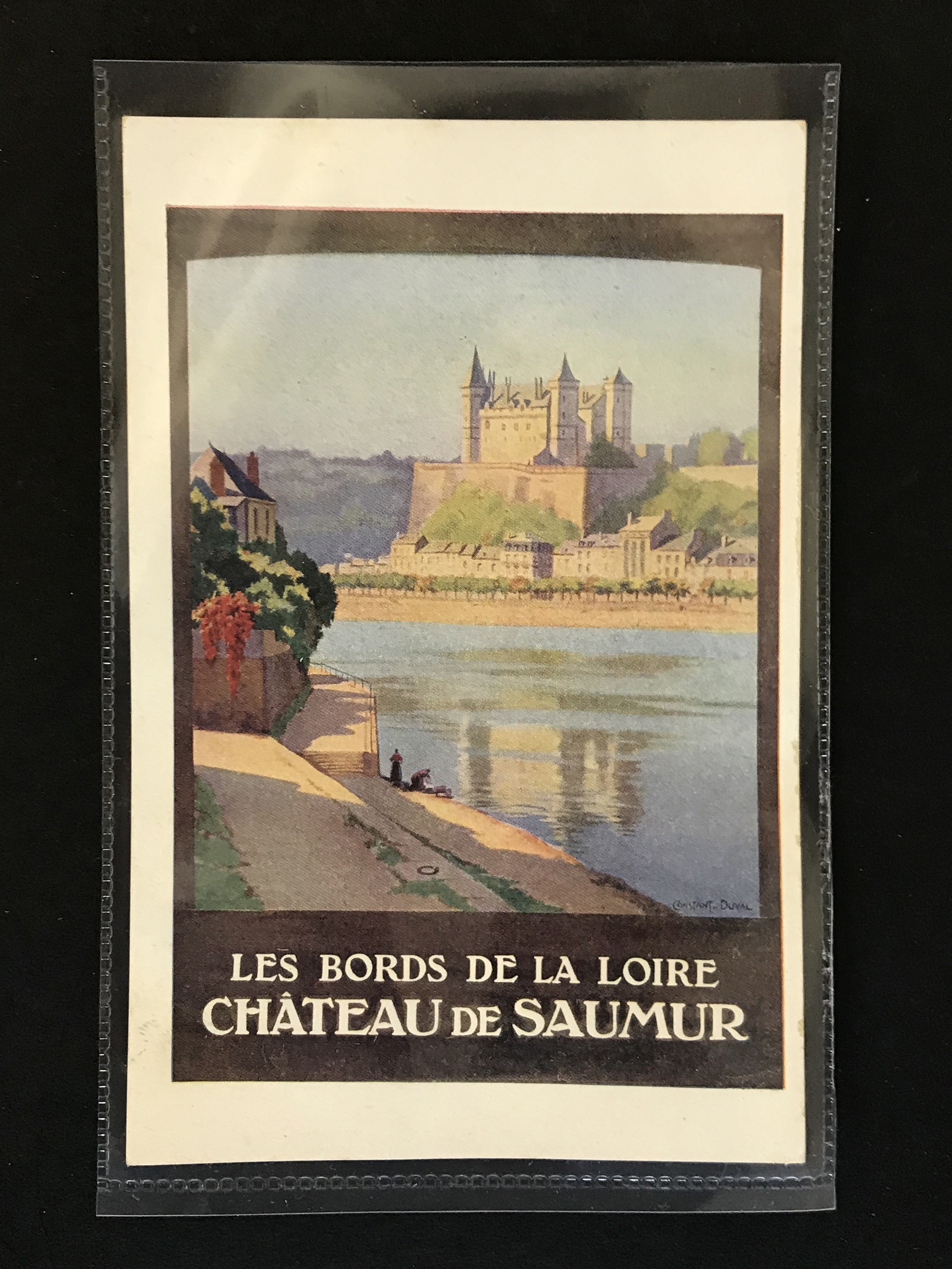 SIX FRENCH OLD POSTCARDS PROMOTING TOURIST DESTINATIONS - Image 4 of 8