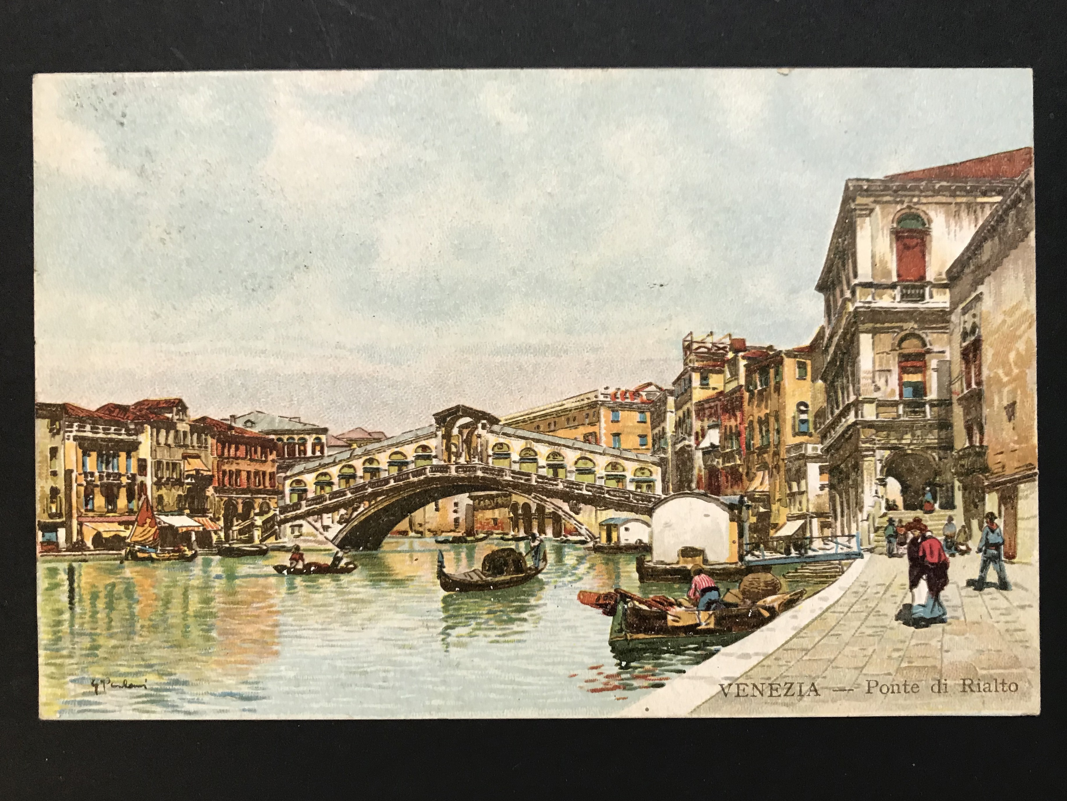 SELECTION OF VENICE RELATED POSTCARDS - Image 5 of 53