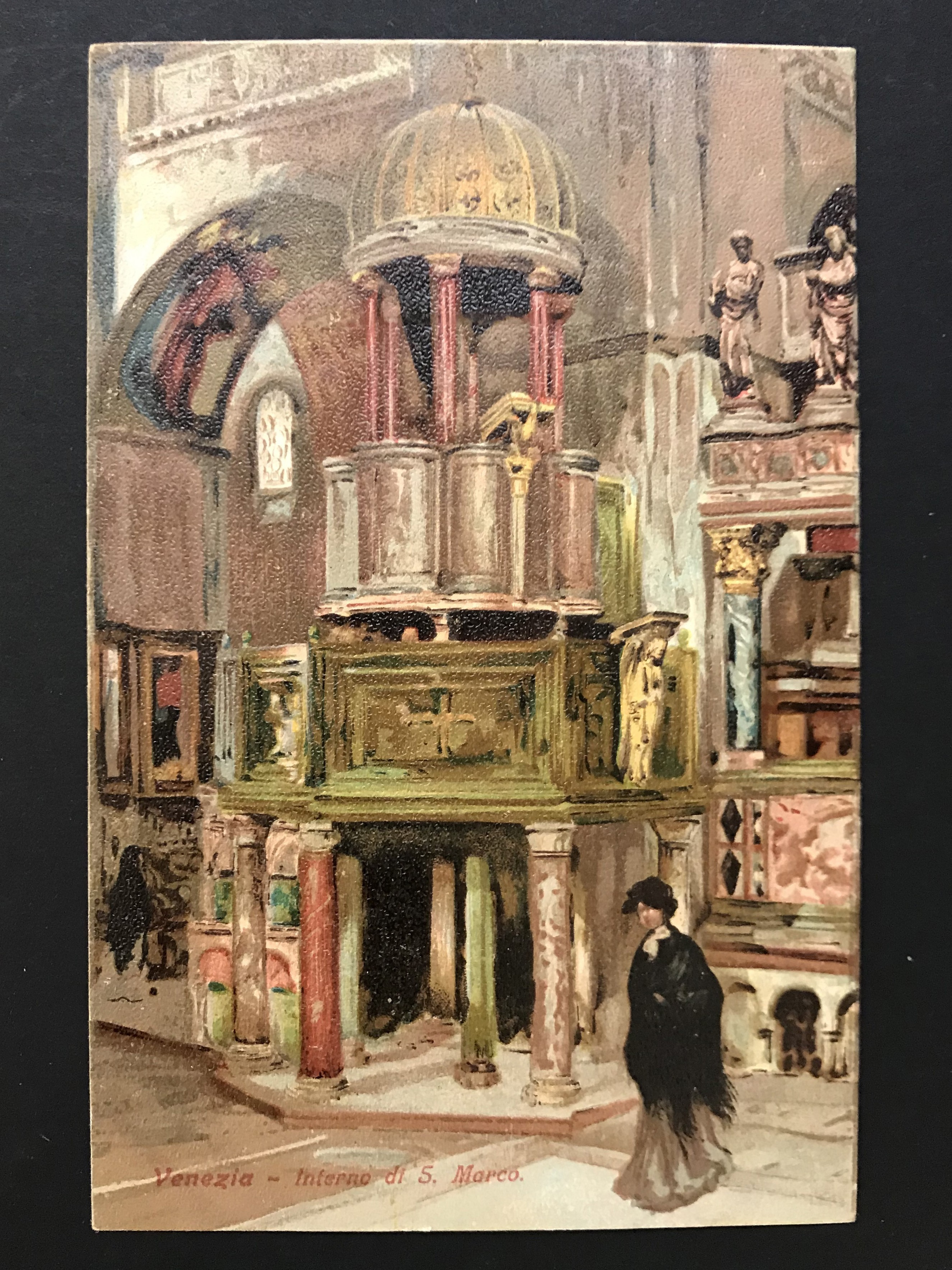 SELECTION OF VENICE RELATED POSTCARDS - Image 12 of 53