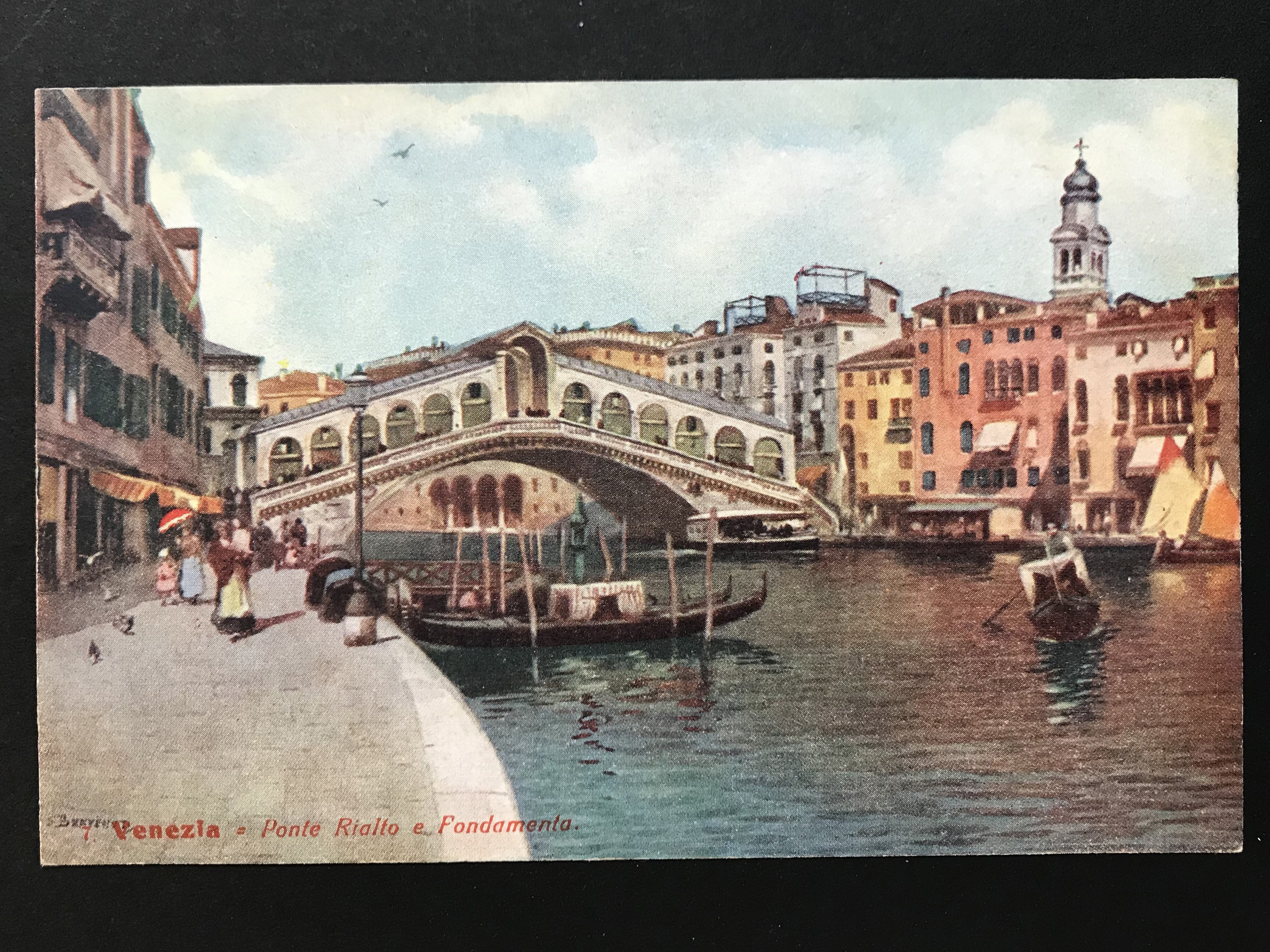 SELECTION OF VENICE RELATED POSTCARDS - Image 2 of 53