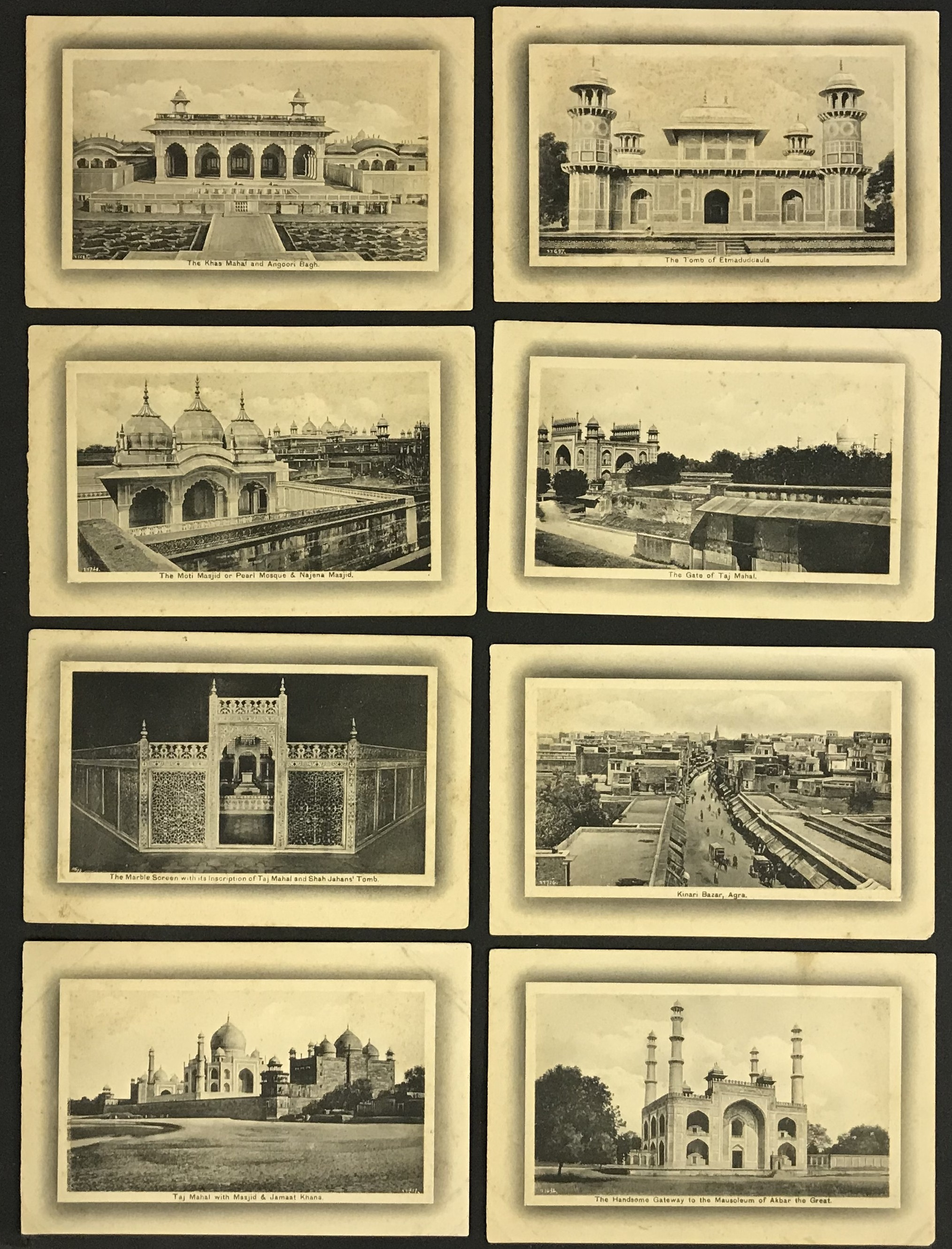 H.A. MIRZA & SONS DELHI - POSTCARDS OF INDIA (20) PRINTED IN SAXONY - Image 4 of 4