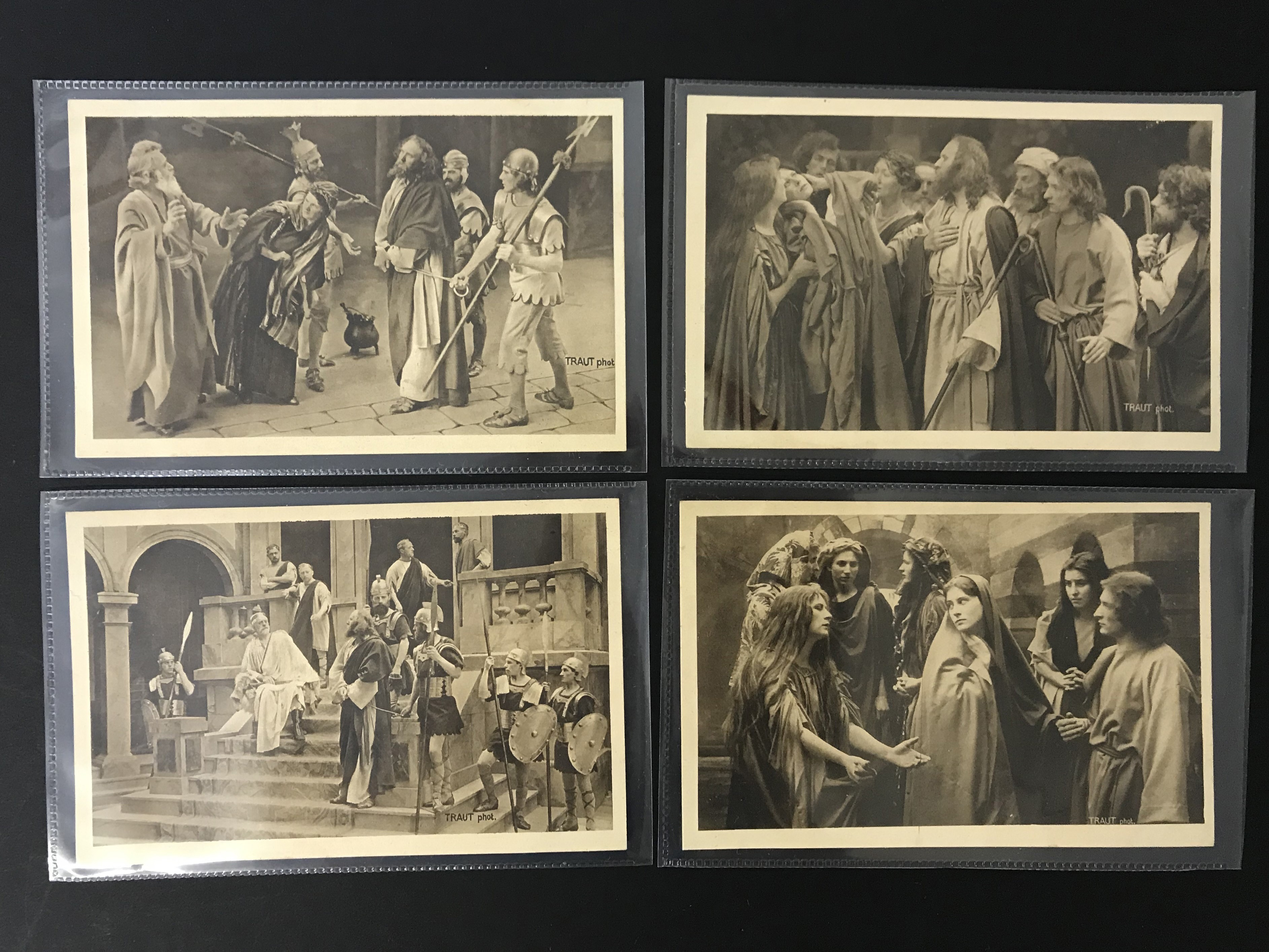 SELECTION OF VARIOUS POSTCARDS SHOWING ACTORS - Image 3 of 11