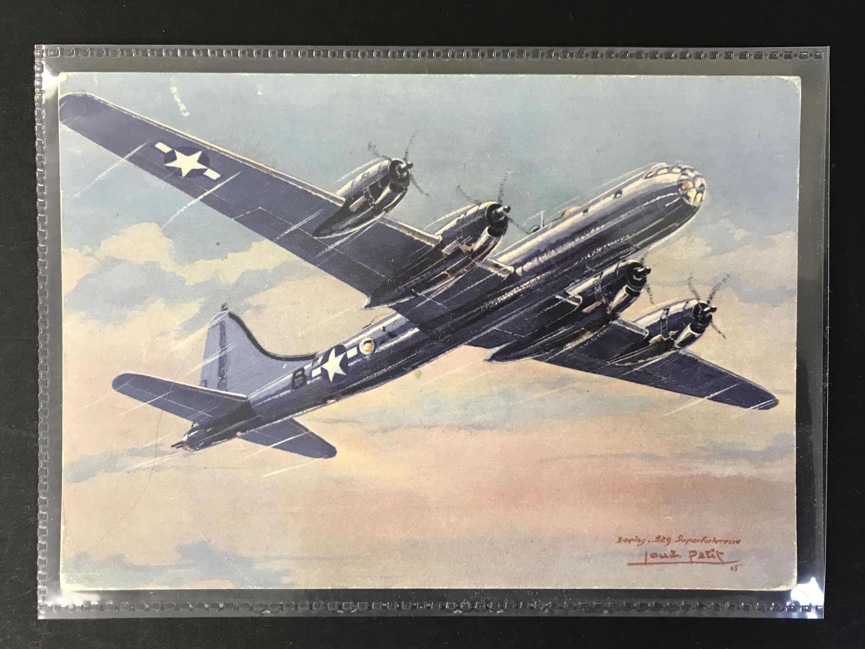 GROUP OF TWELVE FRENCH PLANES RELATED POSTCARDS - VARIOUS SERIES - Image 12 of 14