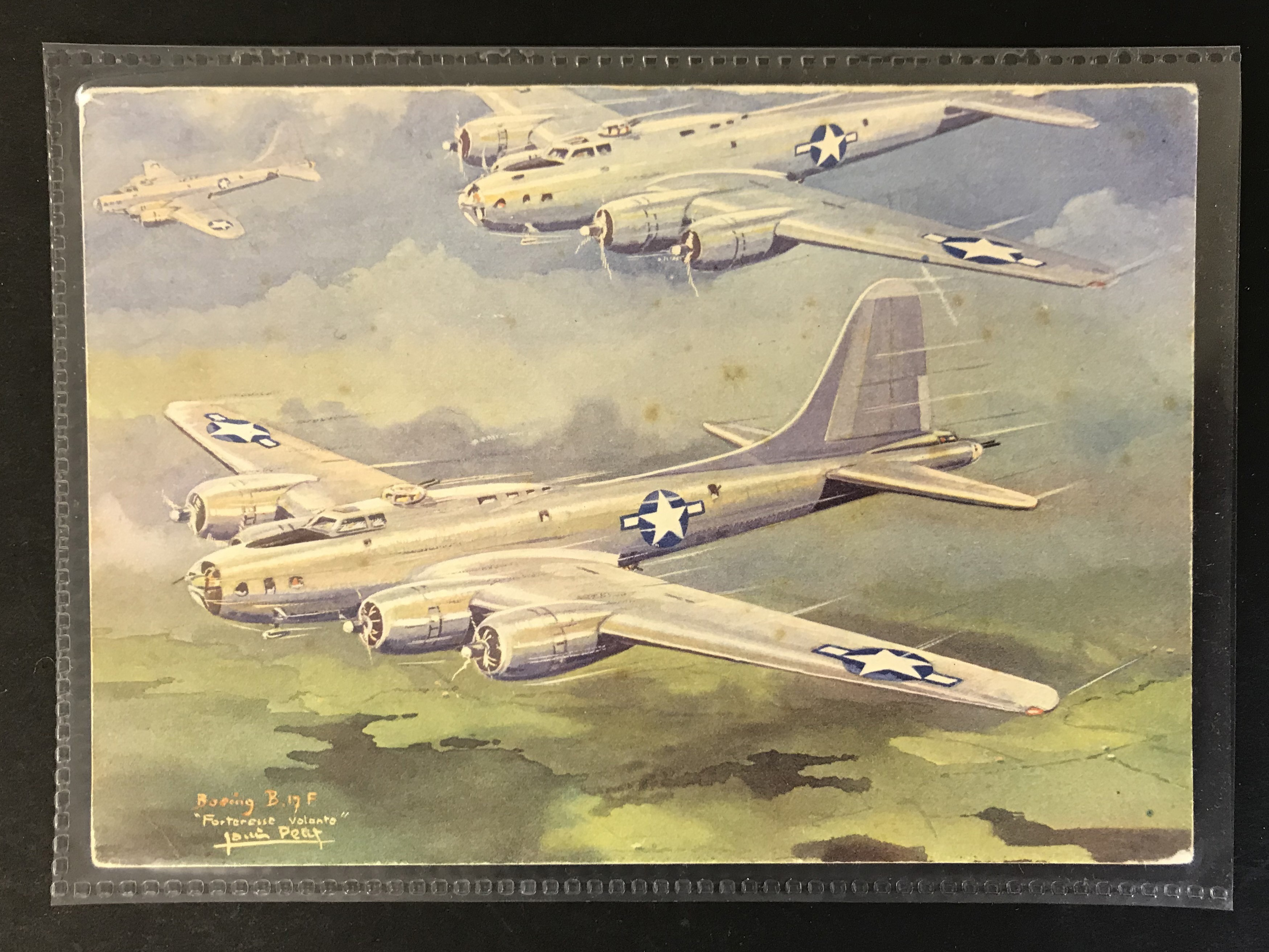 GROUP OF TWELVE FRENCH PLANES RELATED POSTCARDS - VARIOUS SERIES - Image 3 of 14