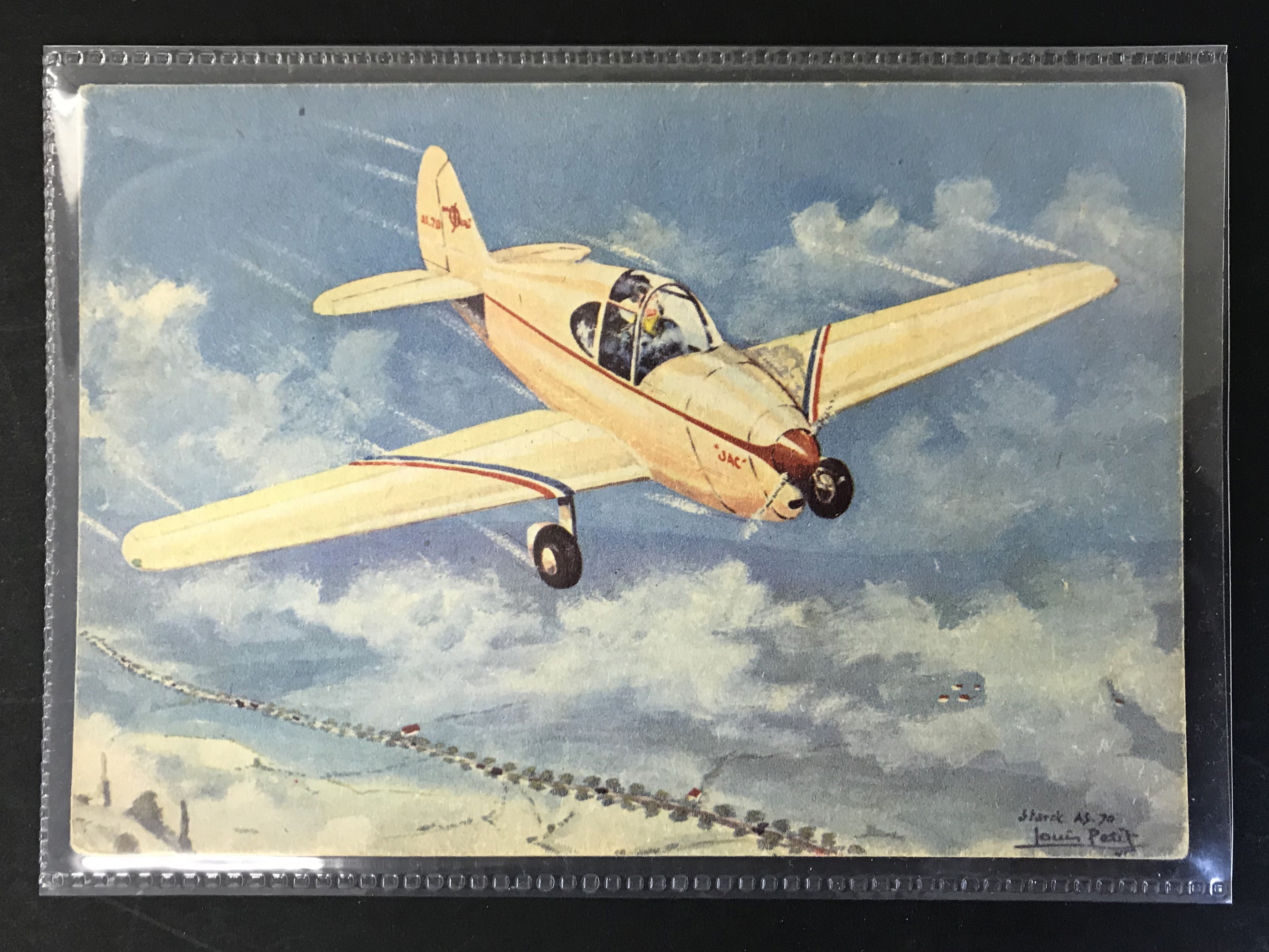 GROUP OF TWELVE FRENCH PLANES RELATED POSTCARDS - VARIOUS SERIES - Image 4 of 14