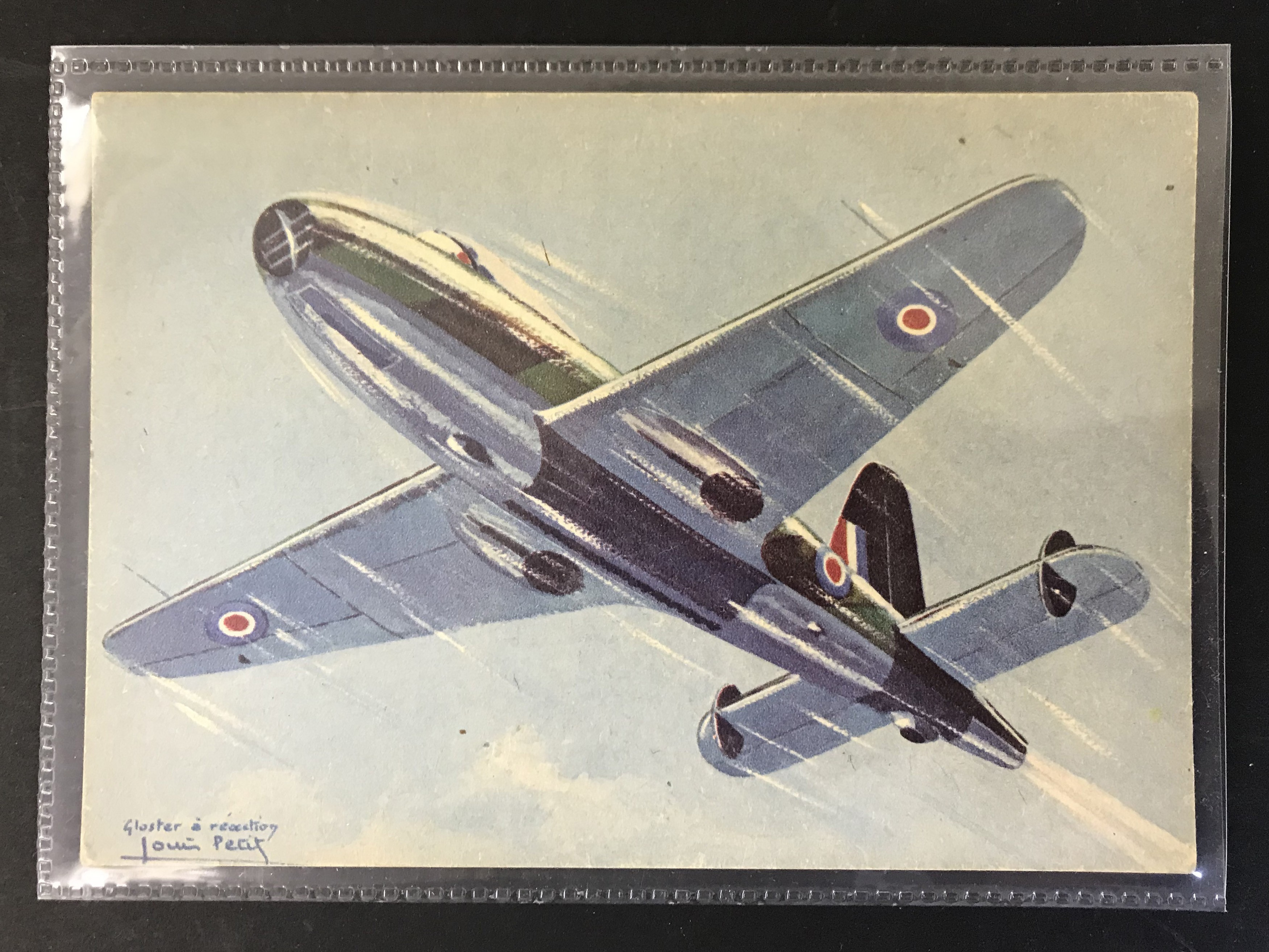 GROUP OF TWELVE FRENCH PLANES RELATED POSTCARDS - VARIOUS SERIES - Image 5 of 14