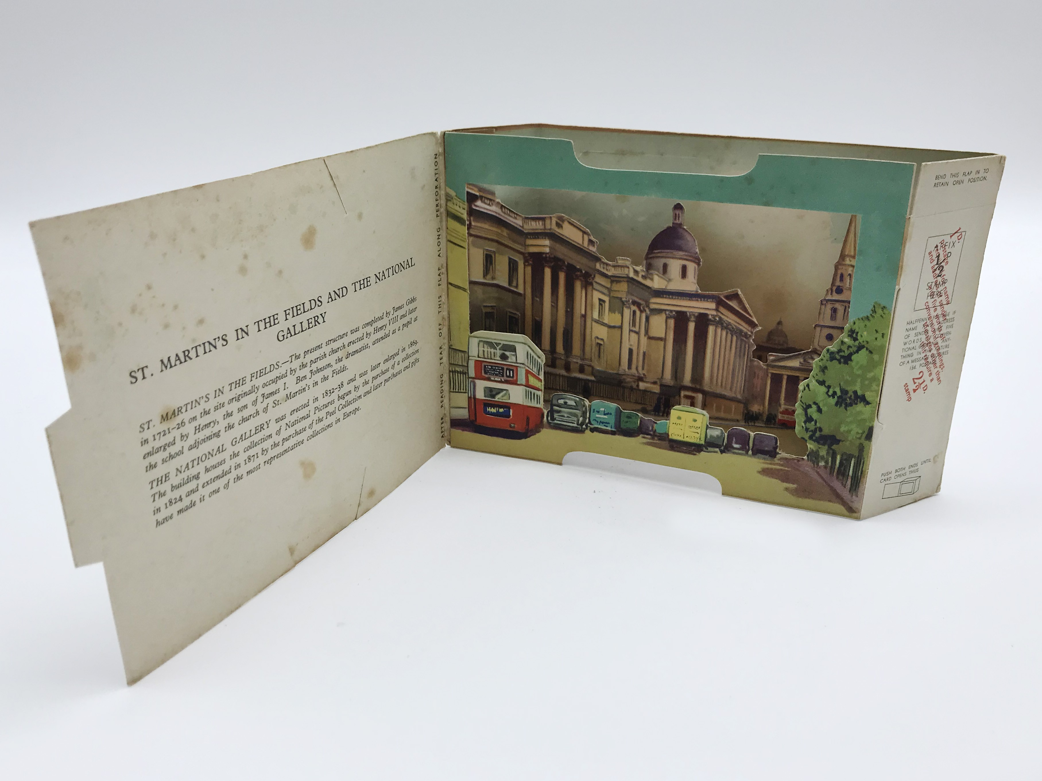 FIVE LONDON POSTCARDS - THE BRENT SERIES OF PANORAMIC VIEW CARDS - Image 4 of 13
