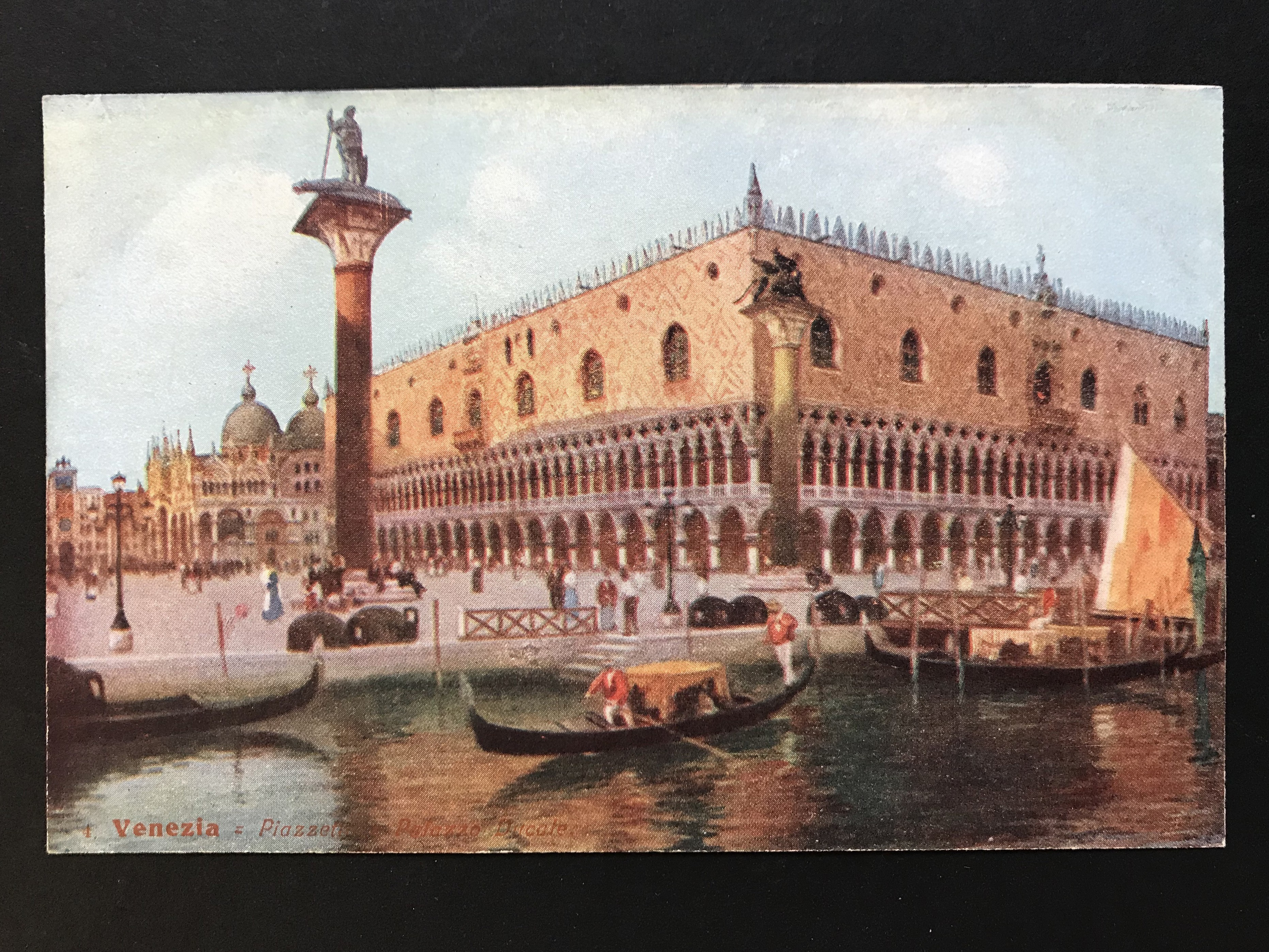 SELECTION OF VENICE RELATED POSTCARDS - Image 9 of 53