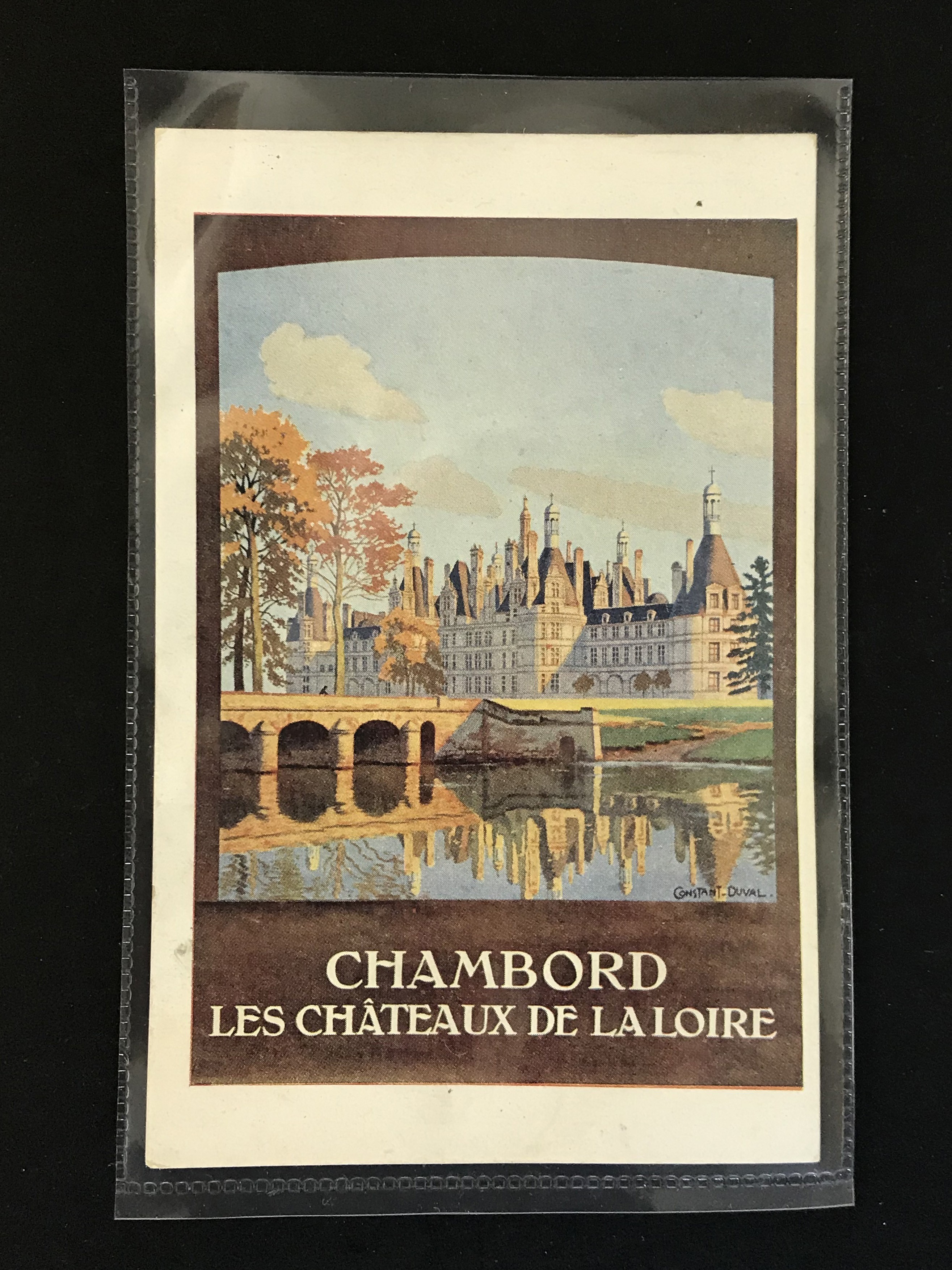 SIX FRENCH OLD POSTCARDS PROMOTING TOURIST DESTINATIONS - Image 2 of 8