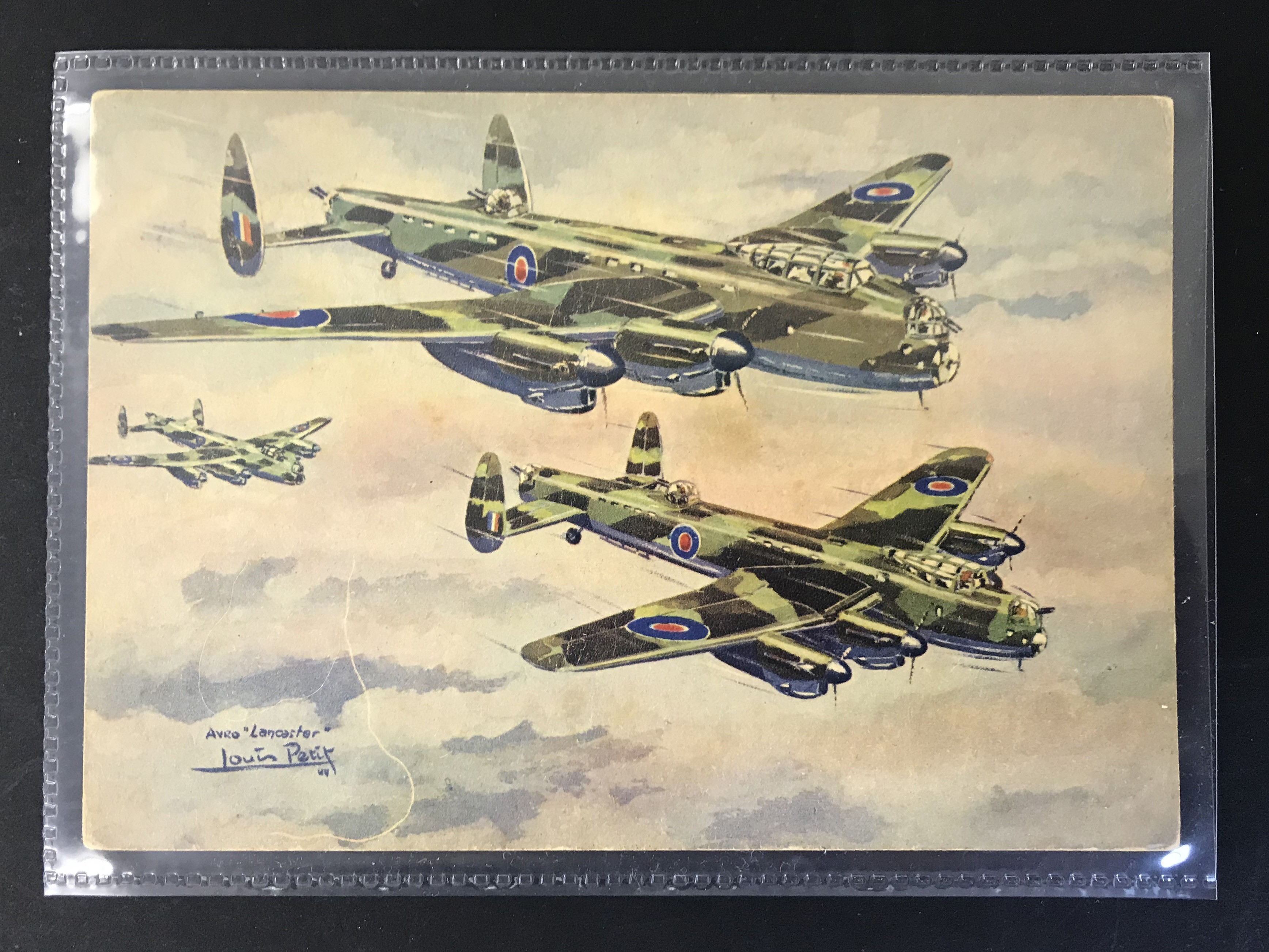 GROUP OF TWELVE FRENCH PLANES RELATED POSTCARDS - VARIOUS SERIES - Image 7 of 14