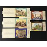 FIVE LONDON POSTCARDS - THE BRENT SERIES OF PANORAMIC VIEW CARDS