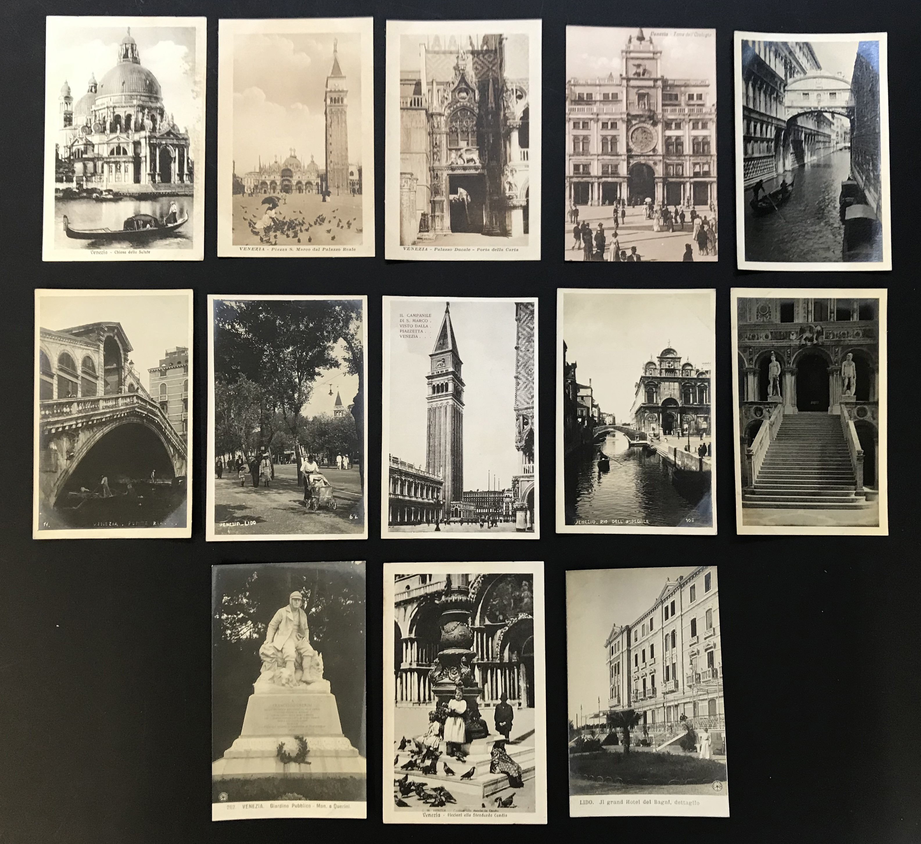 SELECTION OF VENICE RELATED POSTCARDS - Image 16 of 53