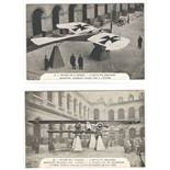 SIX RED CROSS FRENCH POSTCARDS