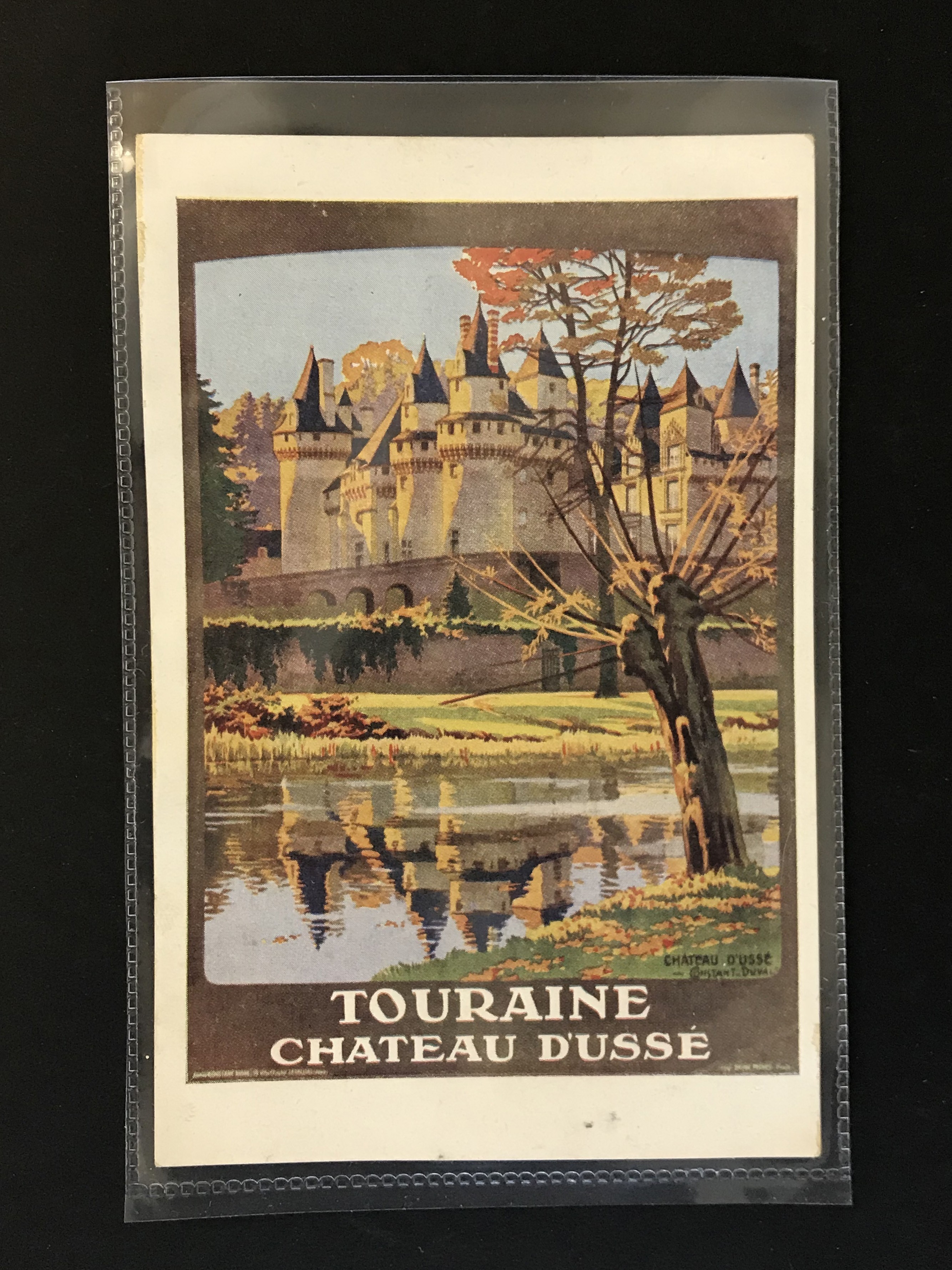 SIX FRENCH OLD POSTCARDS PROMOTING TOURIST DESTINATIONS - Image 3 of 8