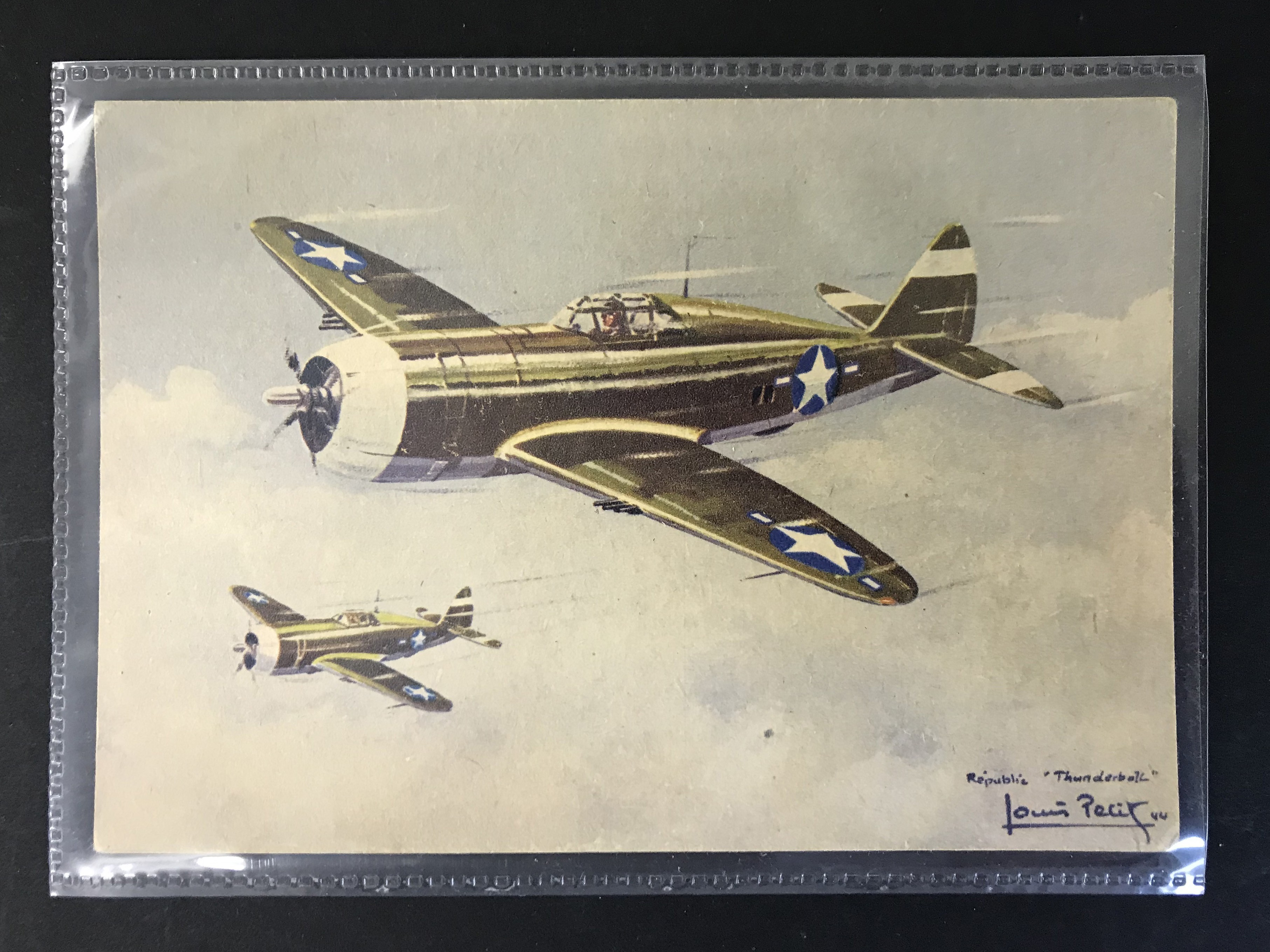 GROUP OF TWELVE FRENCH PLANES RELATED POSTCARDS - VARIOUS SERIES - Image 6 of 14