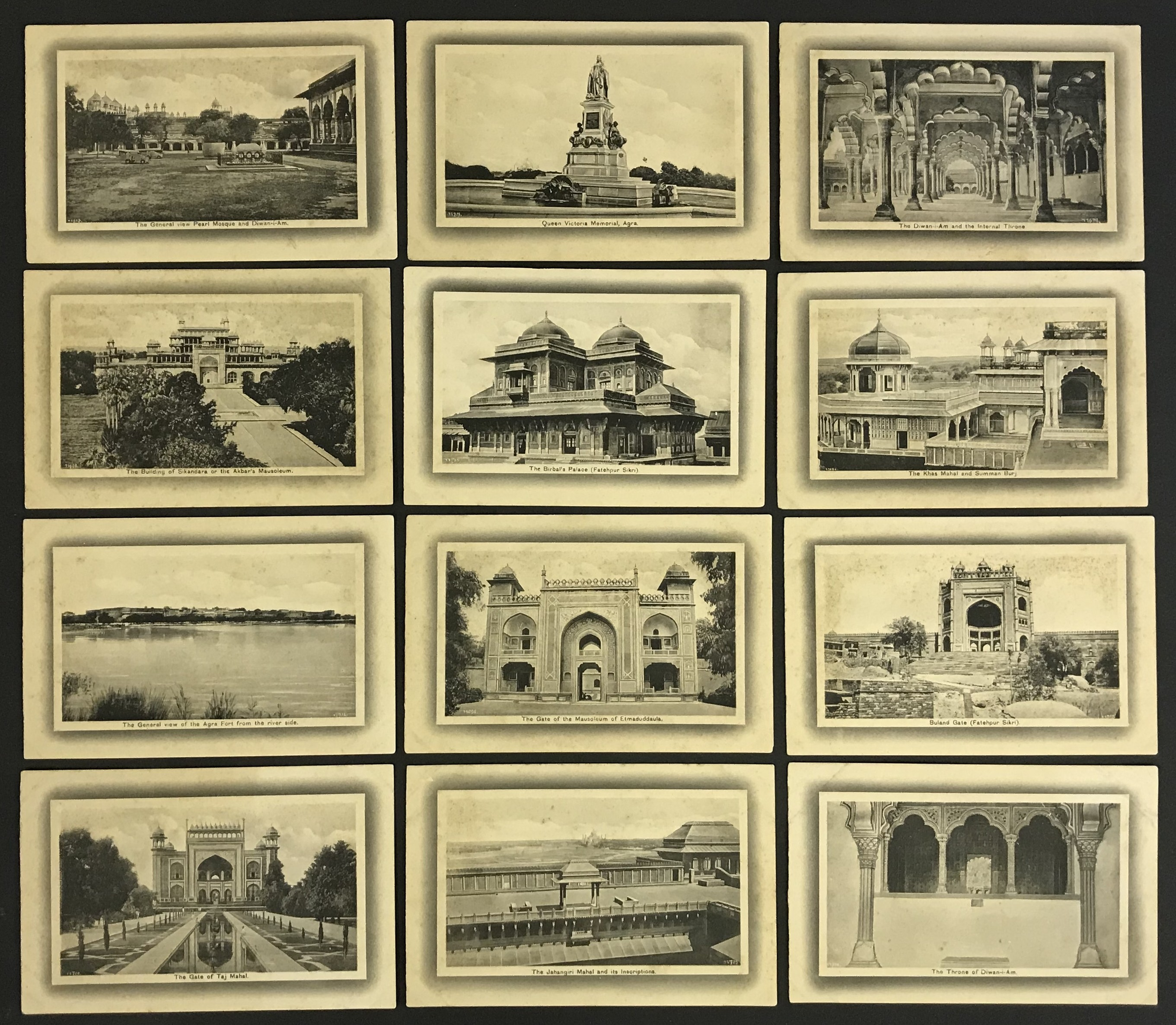 H.A. MIRZA & SONS DELHI - POSTCARDS OF INDIA (20) PRINTED IN SAXONY - Image 3 of 4