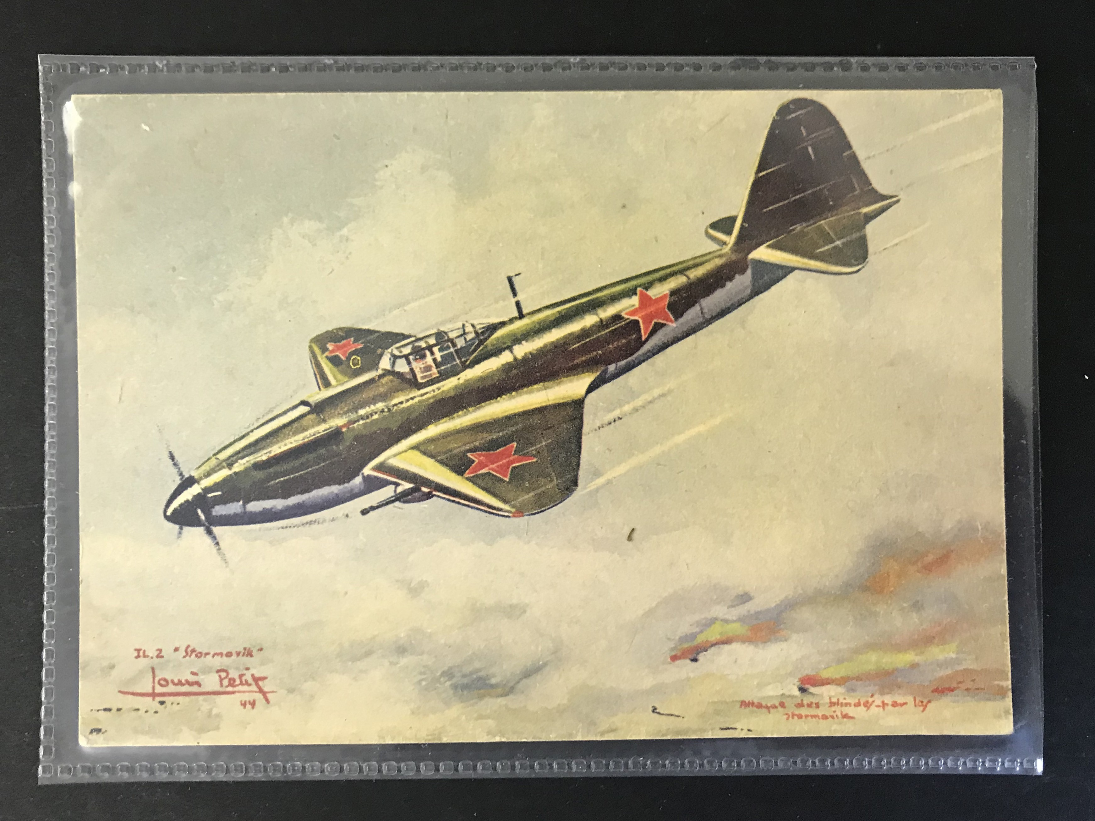 GROUP OF TWELVE FRENCH PLANES RELATED POSTCARDS - VARIOUS SERIES - Image 11 of 14