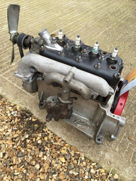 A good Austin 7 magneto engine, by repute fully rebuilt with