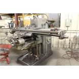 "K & T horizontal #3 milling machine, No . 4 plain, model H, sn 14-3709, 48"". Sells with owners"