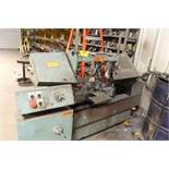 "W. F. Wells horizontal cut-off saw model W-9-1, sn 4881, blade size, 1"". Sells with owners"
