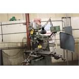 Bridgeport vertical mill Series II, model 12-BR, sn 245144, 2 hp, poer feed, DRO Pros, 2m digital