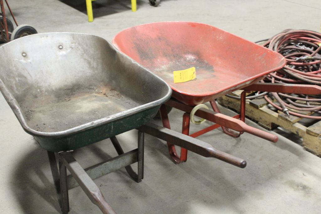 Lot 433 - Wheel barrows.