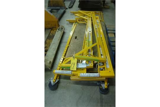 Bil Jax Scaffolding Parts : Lot bil jax pro utility scaffolding located in