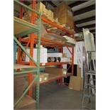 SECTION OF INDUSTRIAL RACKING