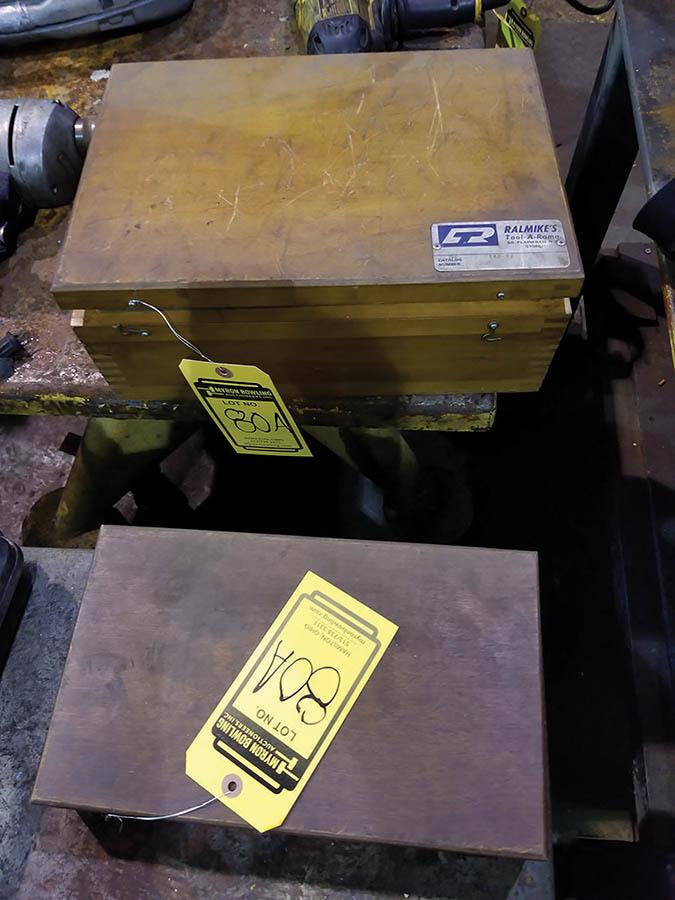 Lot 80A - (2) RALMIKES TOOL-A-RAM KEY WAY SETS