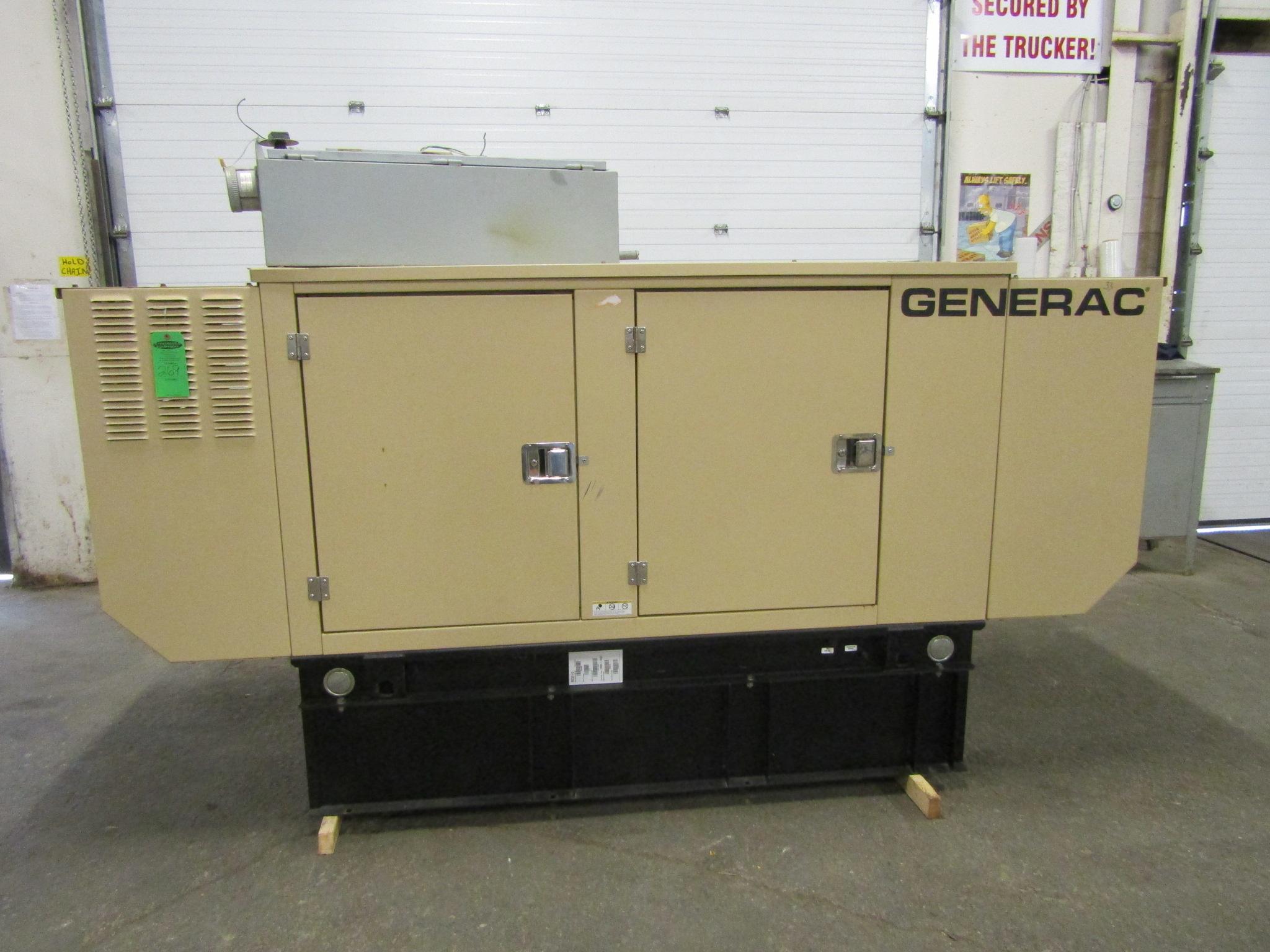2007 Generac Diesel Generator model 10 KW 10 KVA