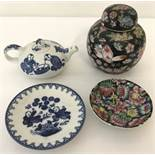 4 pieces of oriental ceramics.