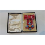 Lot 393 - The Most Excellent Order of the British Empire CBE Ladies (second type) with shoulder bow, with