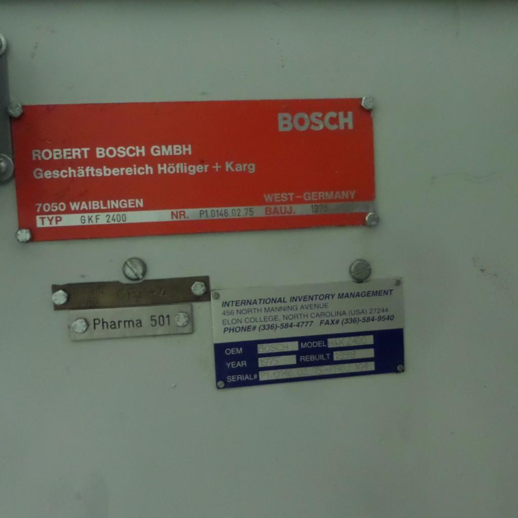 Lot 1921 - Bosch Capsule Filler