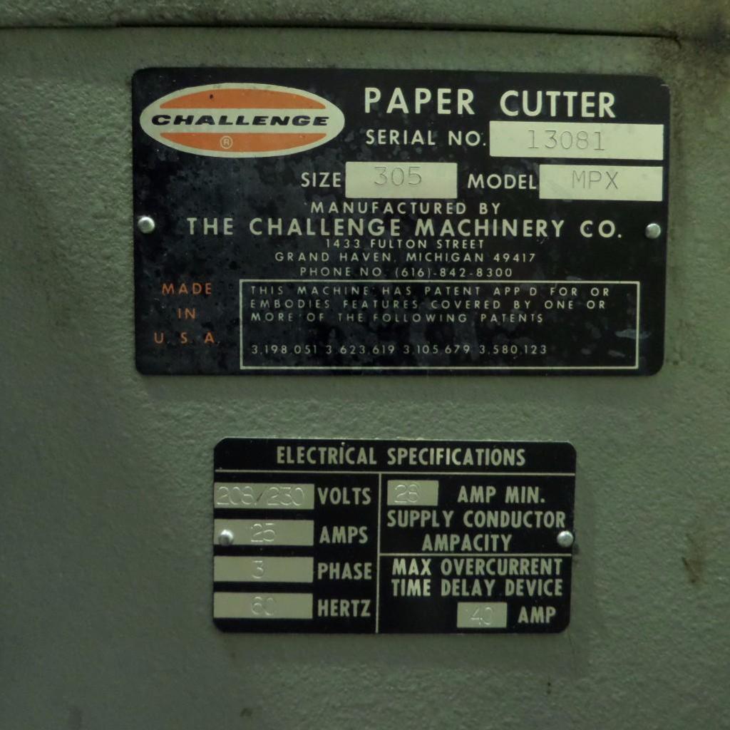 Lot 1903 - Champion Paper Cutter