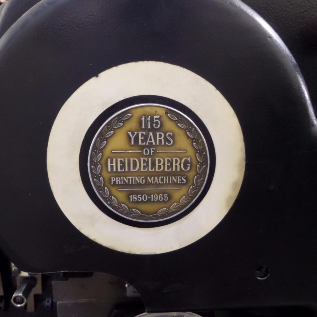Lot 1907 - Heidelberg Die Cutter