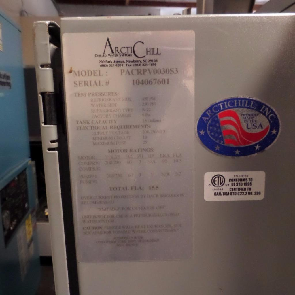 Lot 1938 - Artic Chill Water Chiller