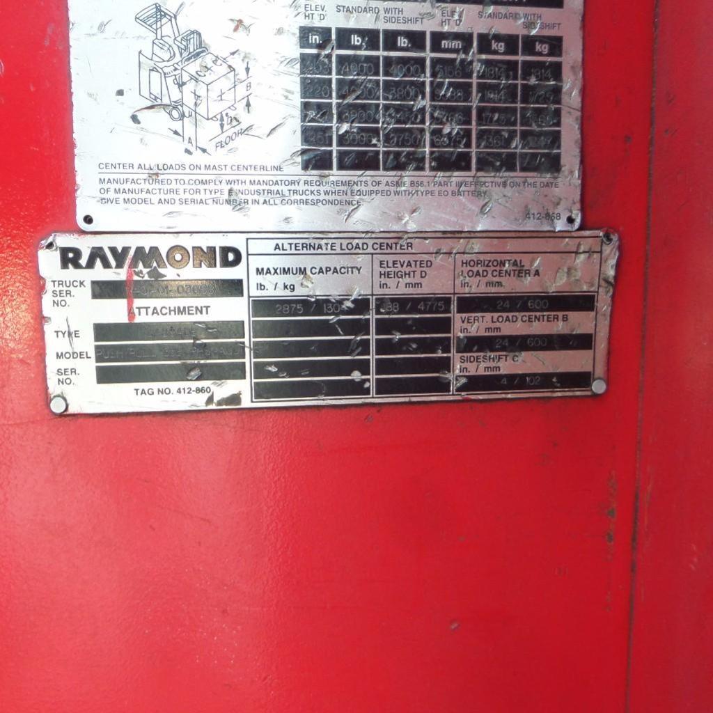 Lot 1916 - Raymond Forklift