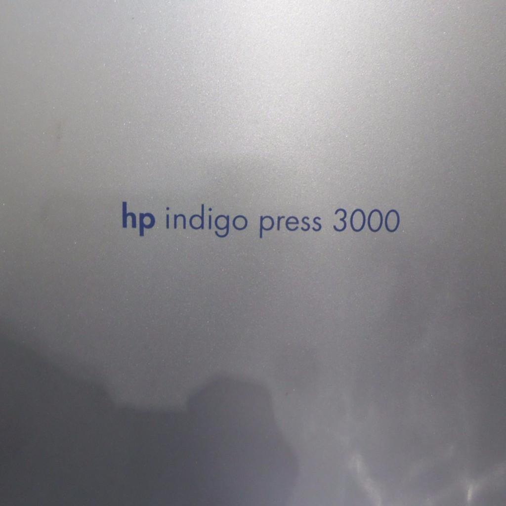 Lot 1906 - HP Indigo Press