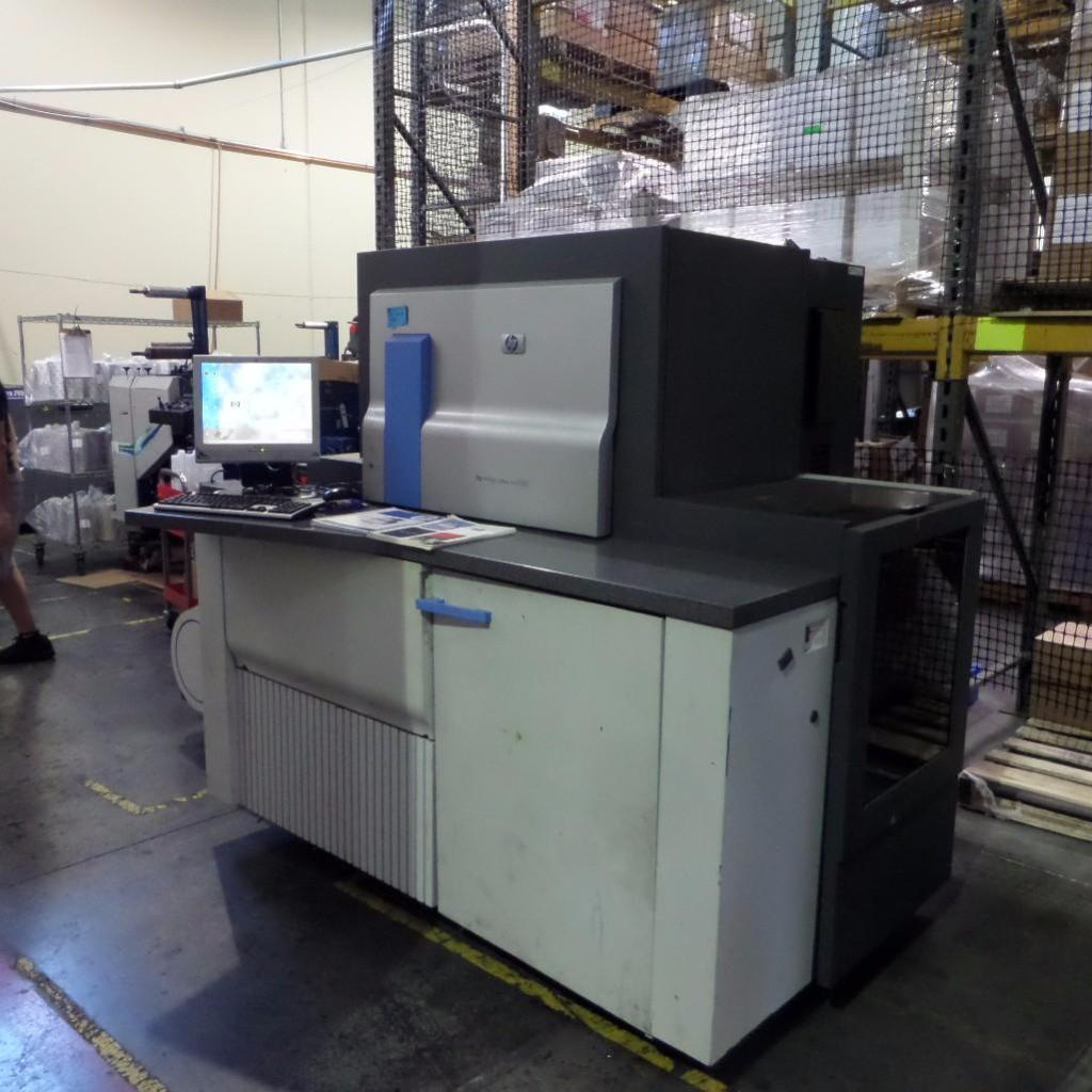 Lot 1912 - HP Indigo Press