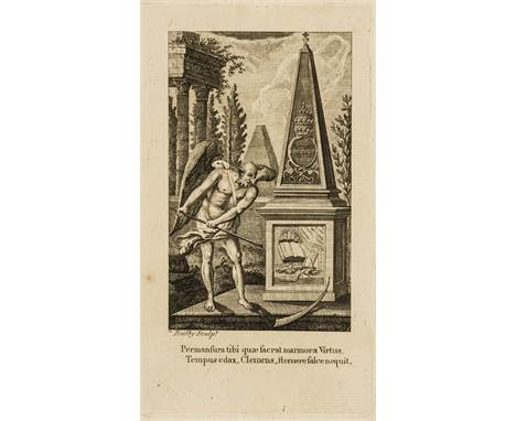 London Printmakers.- A miscellaneous group of engravers' notices, book-illustrations and prints by men working in the circle