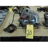 "CIRCULAR SAW, SKILSAW 7-1/4"" MDL. 5175, 2.4 HP motor"