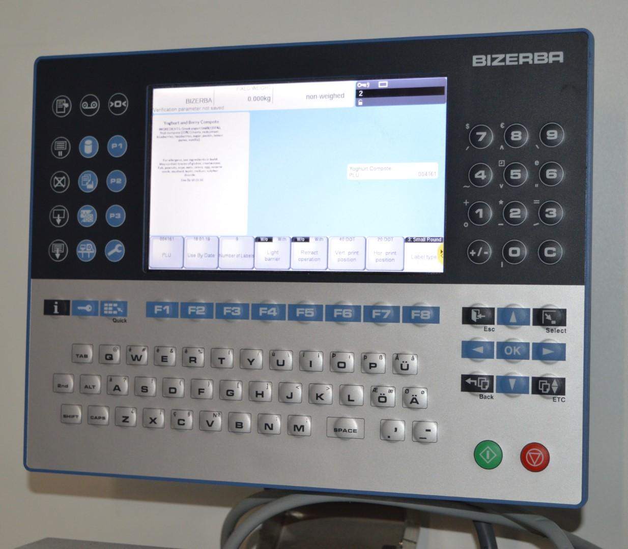 Lot 28 - 1 x Bizerba GLP Maxx Industrial Barcode Thermal Label Printer - Intel Atom Processor and 2gb Ram -