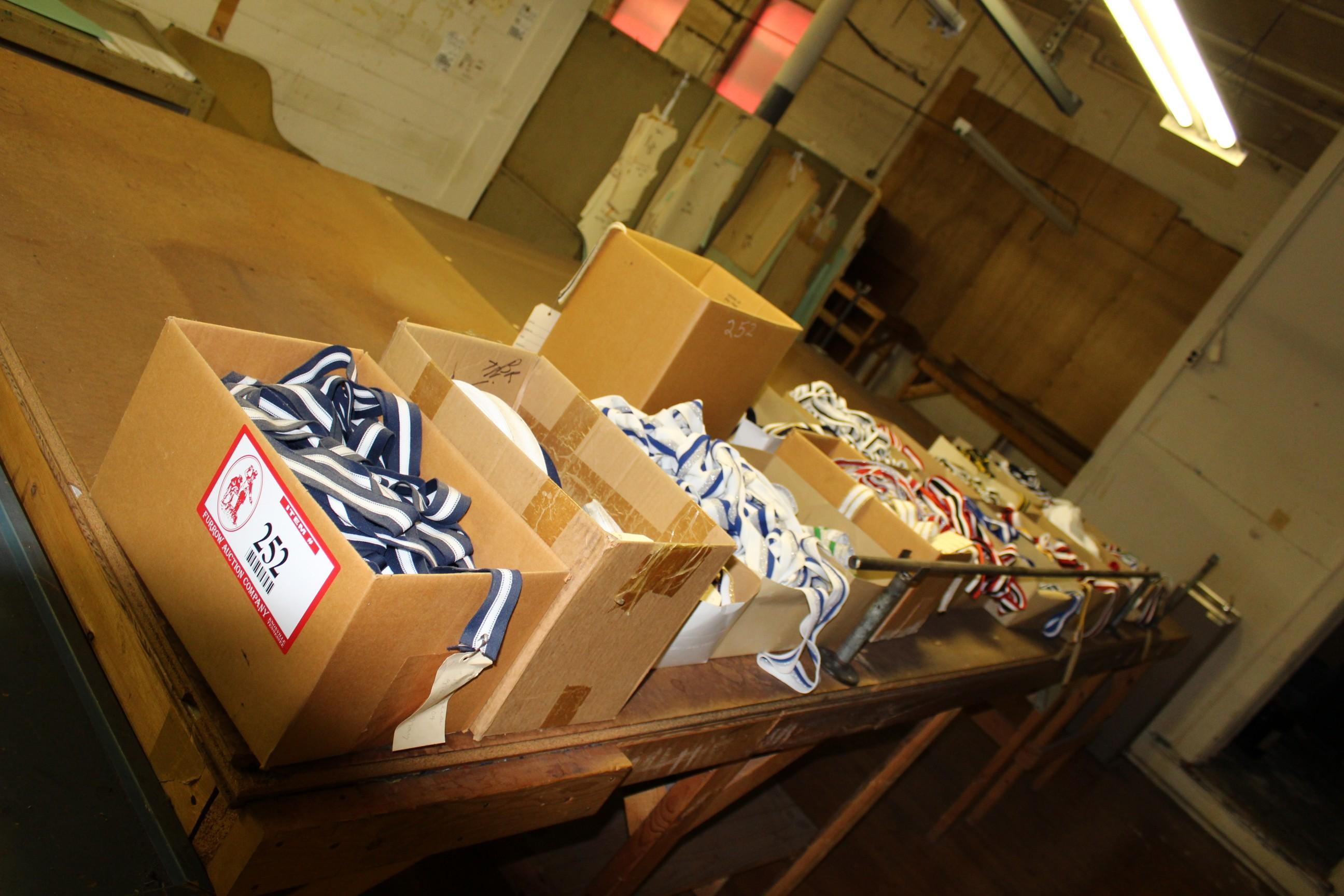 Lot 252 - (19) Boxes Various Color Braid Trim