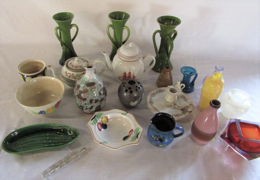 Lot 50 - Various ceramics and glassware inc Wedgwood