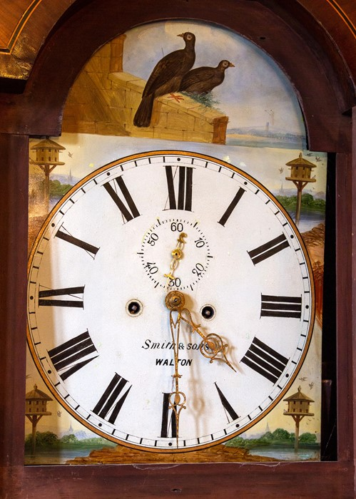 An early 19th Century eight day mahogany and oak longcase clock, by Smith and Sons, Walton-on-Trent, - Image 2 of 2