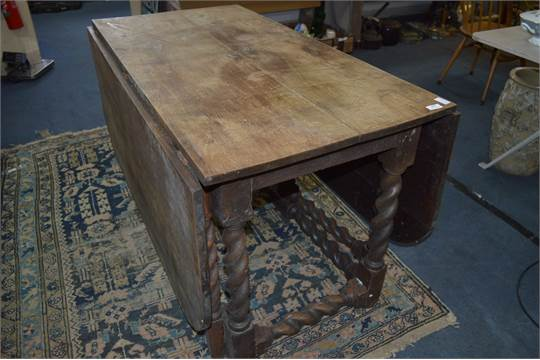 how to date a gate leg table