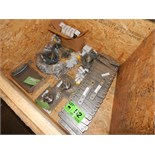 LOT/ CRATE WITH CONTENTS CONSISTING OF BEARINGS AND BRACKETS