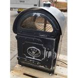 1 x King Edward Large Commercial Potato Baker In Black - Dimensions: D56 x W52 x H80cm - Preowned