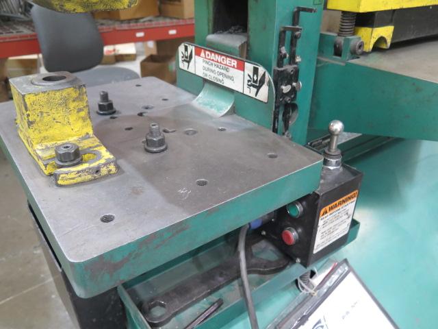 """2010 Piranha P-90 90-Ton Iron Worker s/m P90-2012 w/ 1 1/8"""" thru 1"""" Punch Cap., 1"""" x 12"""" – ¾"""" x - Image 9 of 16"""
