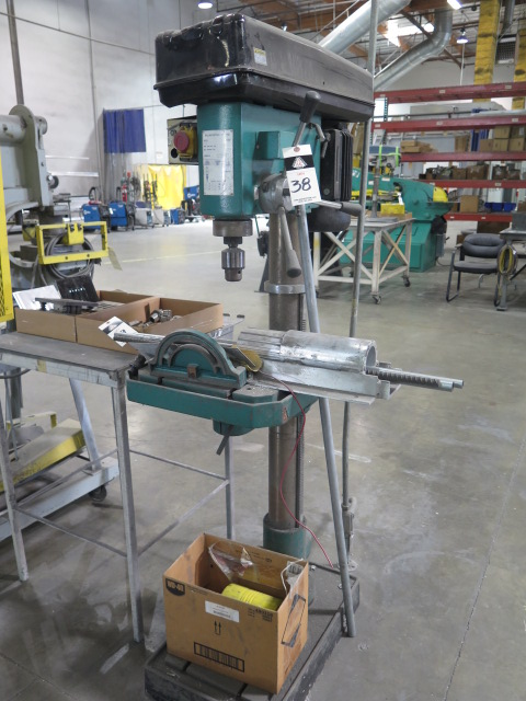 """Lot 38 - Import mdl. G0521 Drilling / Tapping Machine w/ 1"""" Max Drill – 7/8"""" Max Tap Diameters, 190-2250 RPM"""